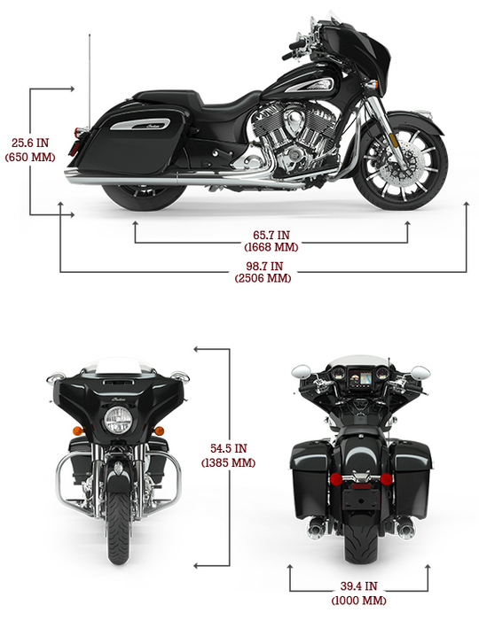 Chieftain limited specs lg