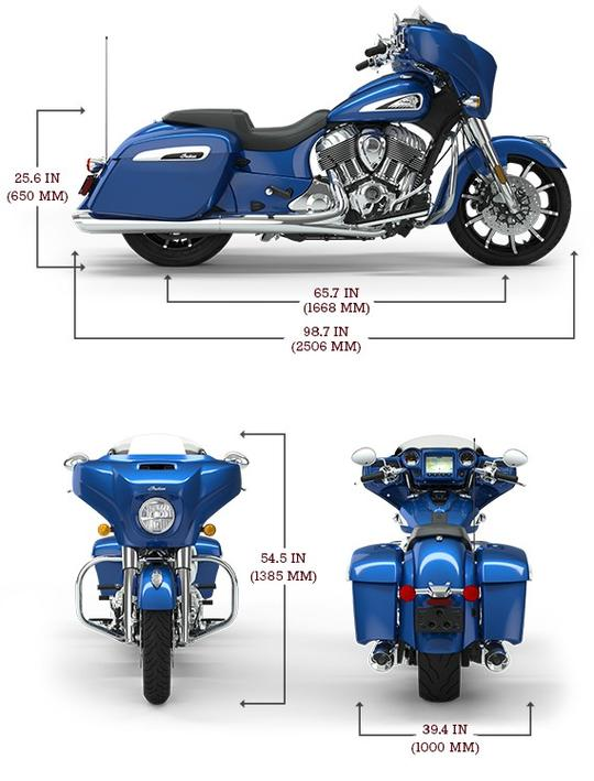 Chieftain limited radar blue lg