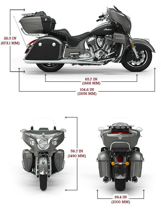 Roadmaster titanium smoke thunder black lg