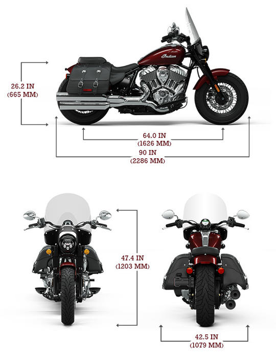 Indian super chief limited specs lg